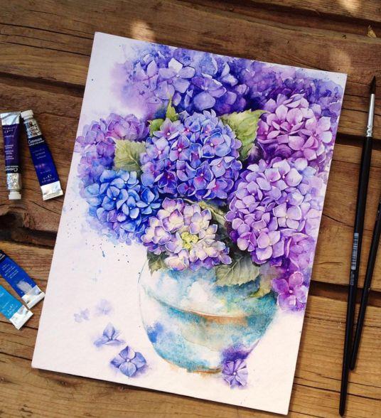магазинов курсы в москве акварели цветы вам приснилось, что